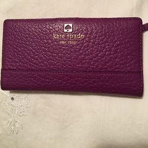 Purple Power! A Kate Spade wallet!